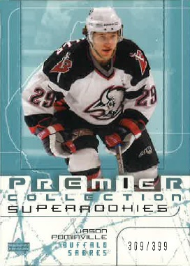My 2003/04 Upper Deck Premier Collection RC