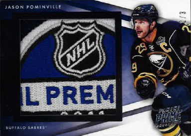 2011/12 Panini Prime Premiere patch
